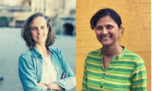 Alexie Seller and Sita Adhikari Finding Impact